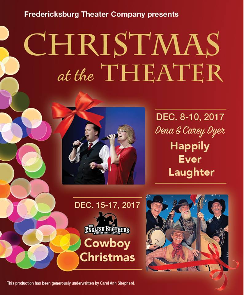 Christmas at the Theatre by Fredericksburg Theater Company
