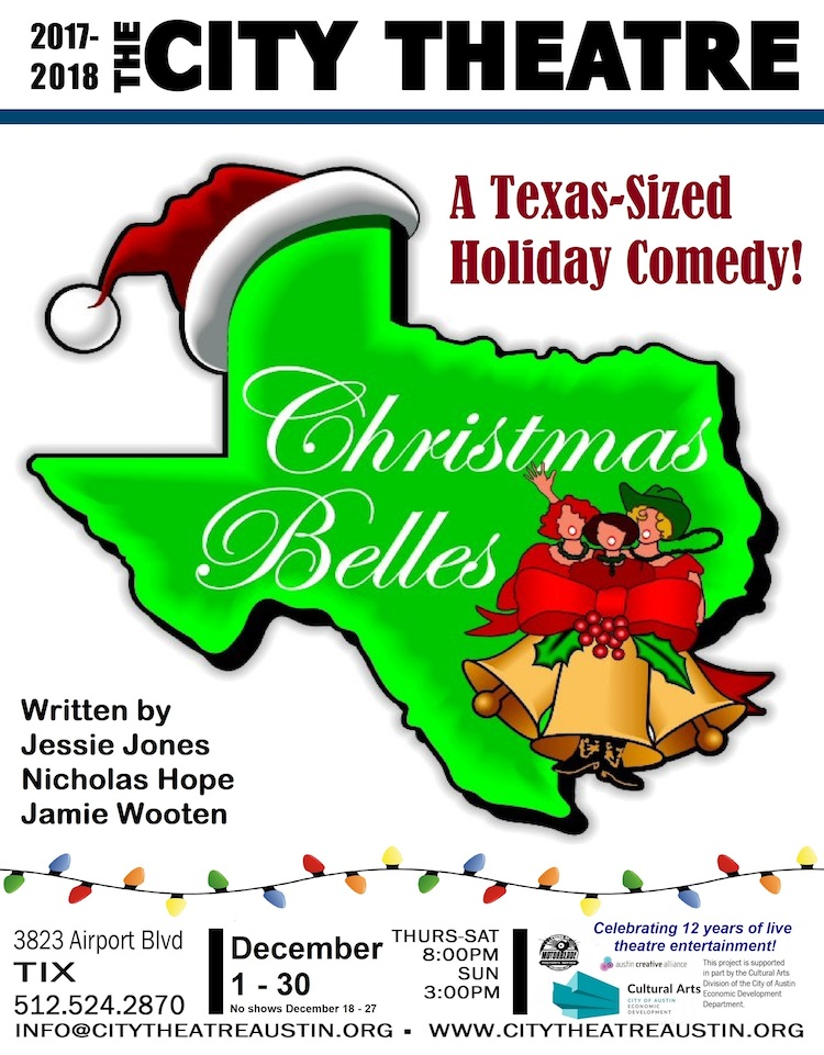 Productions by city theatre company ctx live theatre christmas belles by city theatre company fandeluxe Images