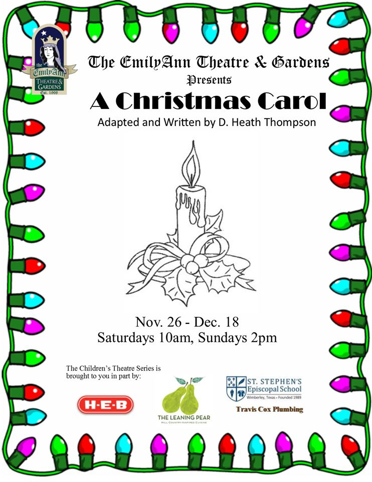 A Christmas Carol (for children and families) by Emily Ann Theatre