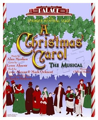 A Christmas Carol, the musical by Georgetown Palace Theatre