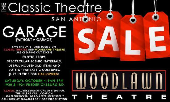 Garage Sale (Without a Garage) by Classic Theatre of San Antonio