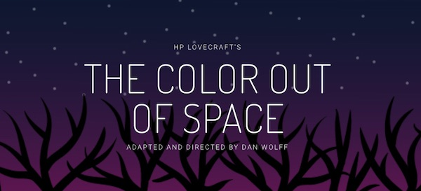The Color Out of Space by Mercurial Theatre