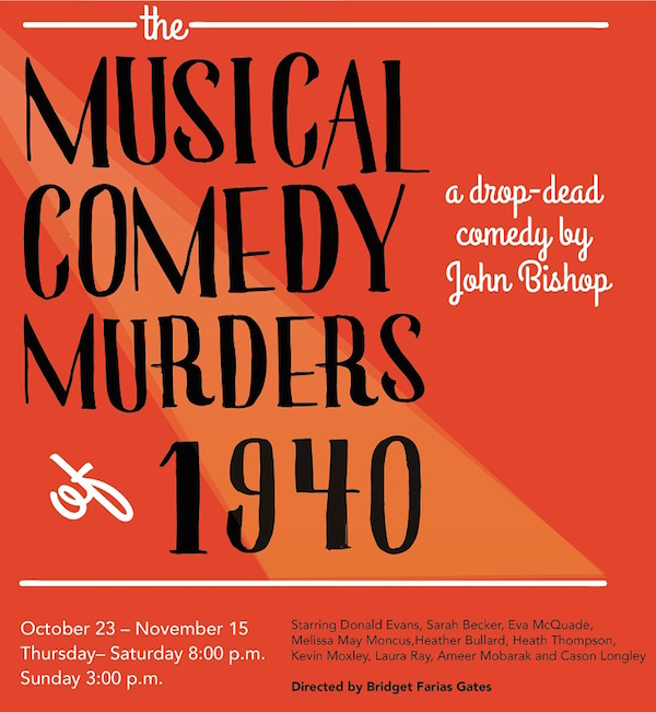 The Musical Comedy Murders of 1940 by City Theatre Company