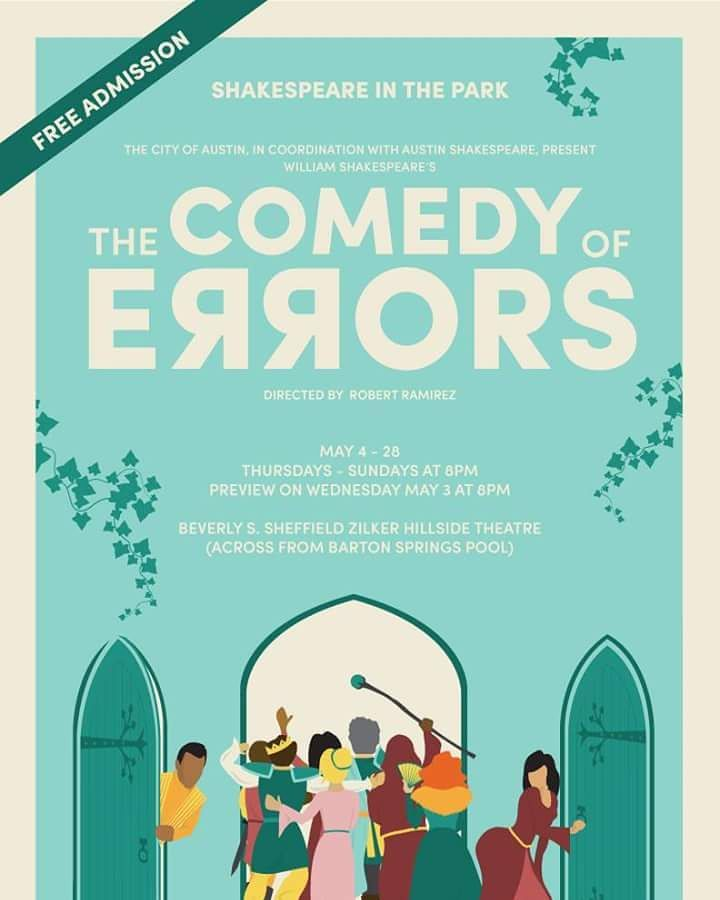 The Comedy of Errors by Austin Shakespeare