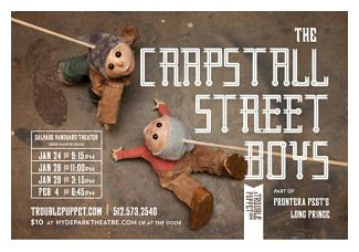 The Crapstall Street Boys by Trouble Puppet Theatre Company