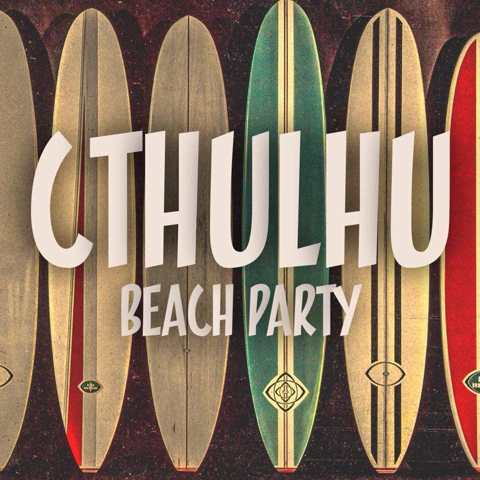 Cthulhu Beach Party by La Fenice