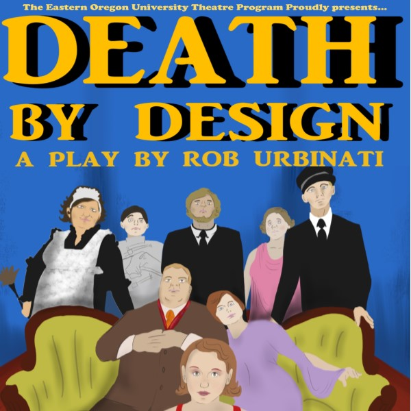 Auditions for Death by Design, by Wimberley Players