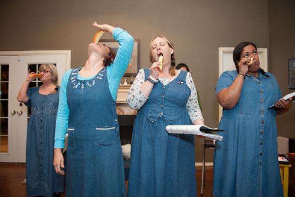 Denim Doves (workshop performances) by Salvage Vanguard Theater