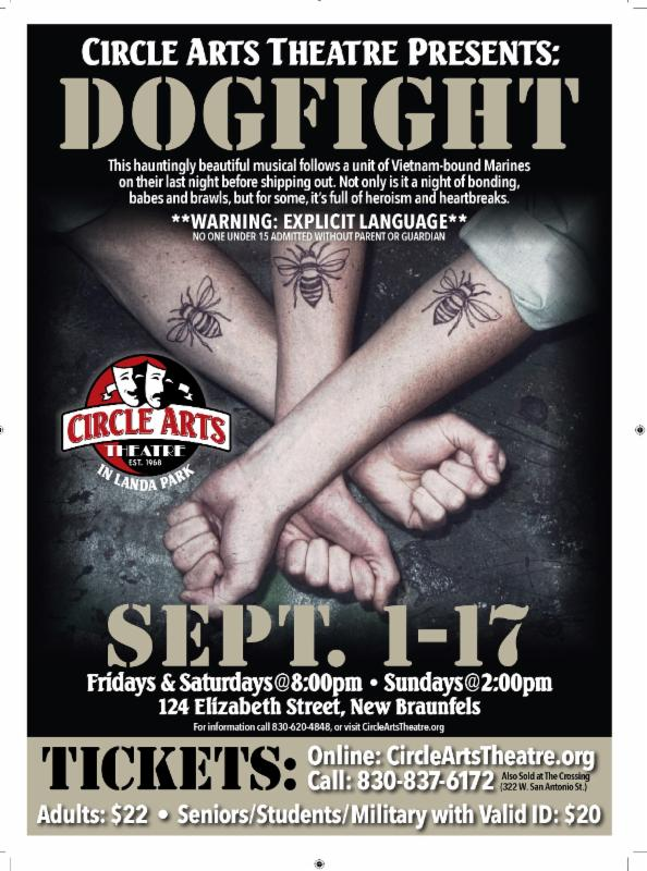 Dogfight, musical by Circle Arts Theatre