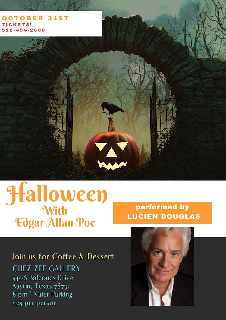 Halloween with Edgar Alan Poe by One Block West Productions