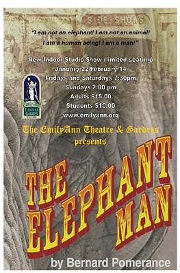 The Elephant Man by Emily Ann Theatre