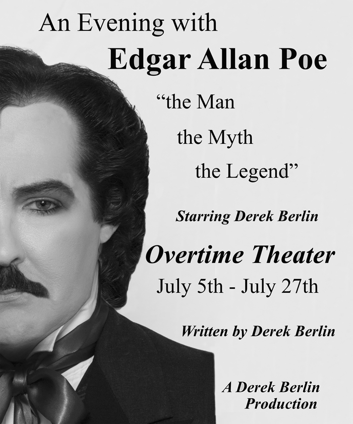 An Evening with Edgar Allan Poe by Overtime Theater