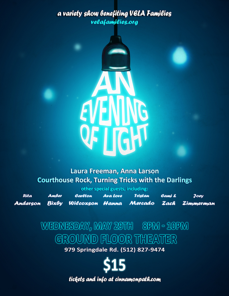 An Evening of Light by Cinnamon Path Theater