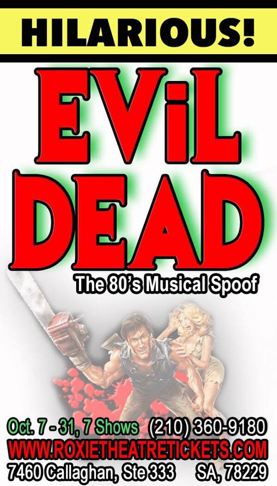 Evil Dead, the musical by Roxie Theatre Company