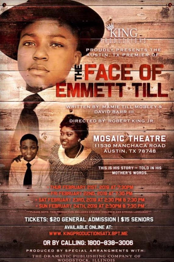 The Face of Emmett Till by Robert King, Jr.