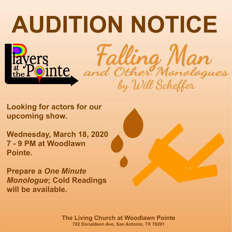 Falling Man and Other Monologues by Players at the Pointe