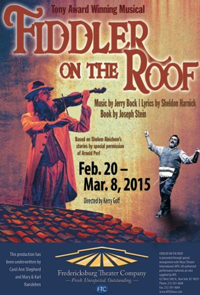 Fiddler on the Roof by Fredericksburg Theater Company