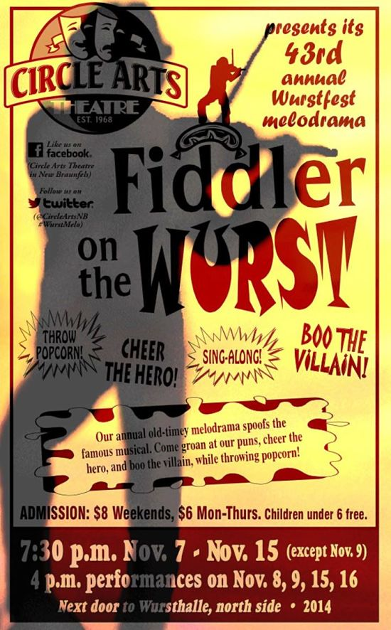 Fiddler on the Wurst by Circle Arts Theatre