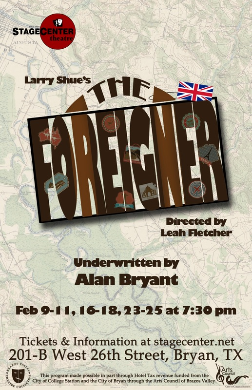 The Foreigner by StageCenter Community Theatre