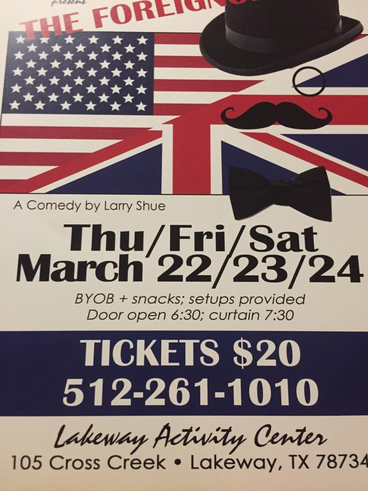 The Foreigner by Lakeway Players