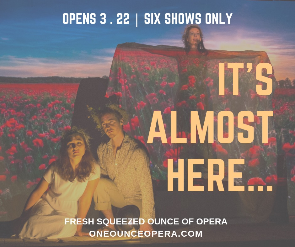 Fresh Squeezed Ounce of Opera by One Ounce Opera
