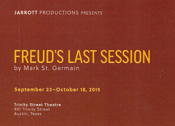 Freud's Last Session by Jarrott Productions