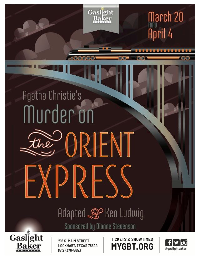 Murder on the Orient Express by Gaslight Baker Theatre