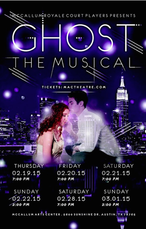 Ghost, the musical by McCallum Fine Arts Academy
