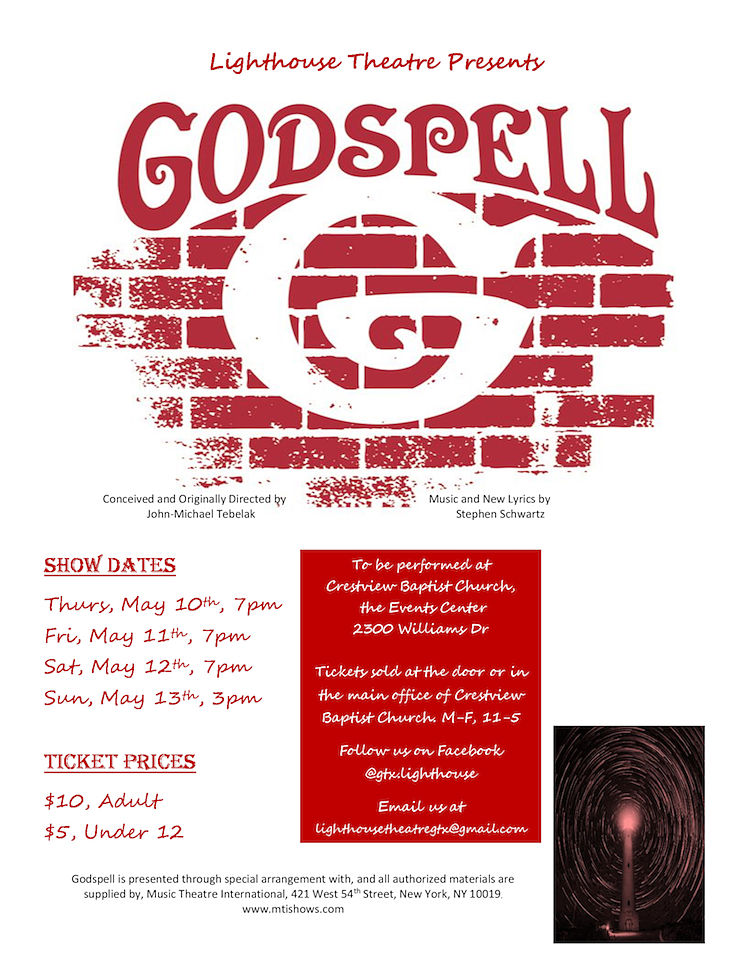 Godspell by Lighthouse Theatre