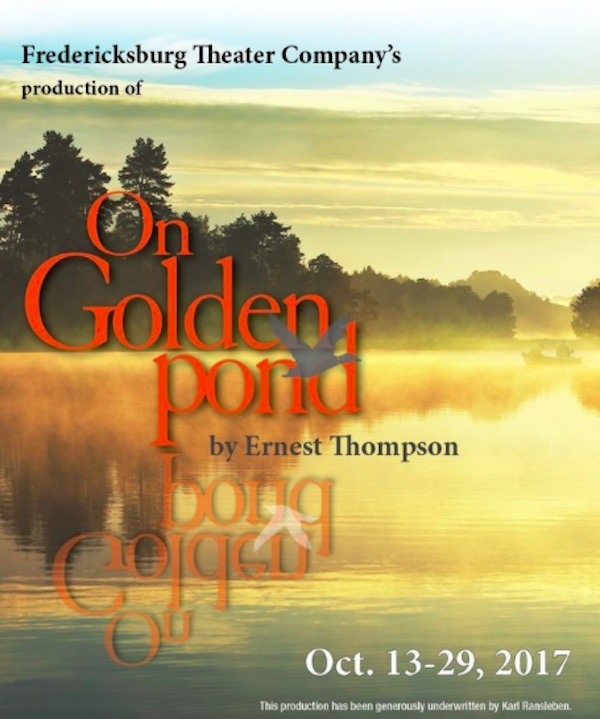 Auditions for On Golden Pond, by Fredericksburg Theater Company