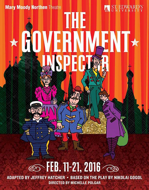 The Government Inspector by Mary Moody Northen Theatre