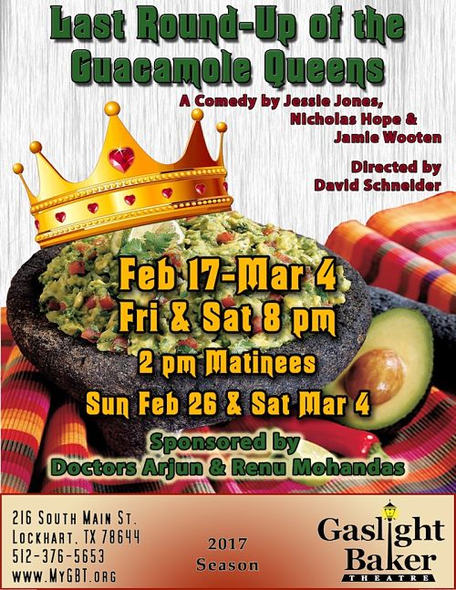 The Last Round-up of the Guacamole Queens by Gaslight Baker Theatre