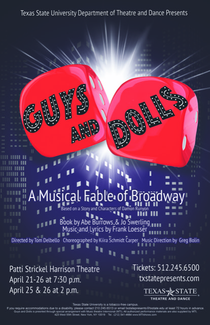 Guys and Dolls by Texas State University
