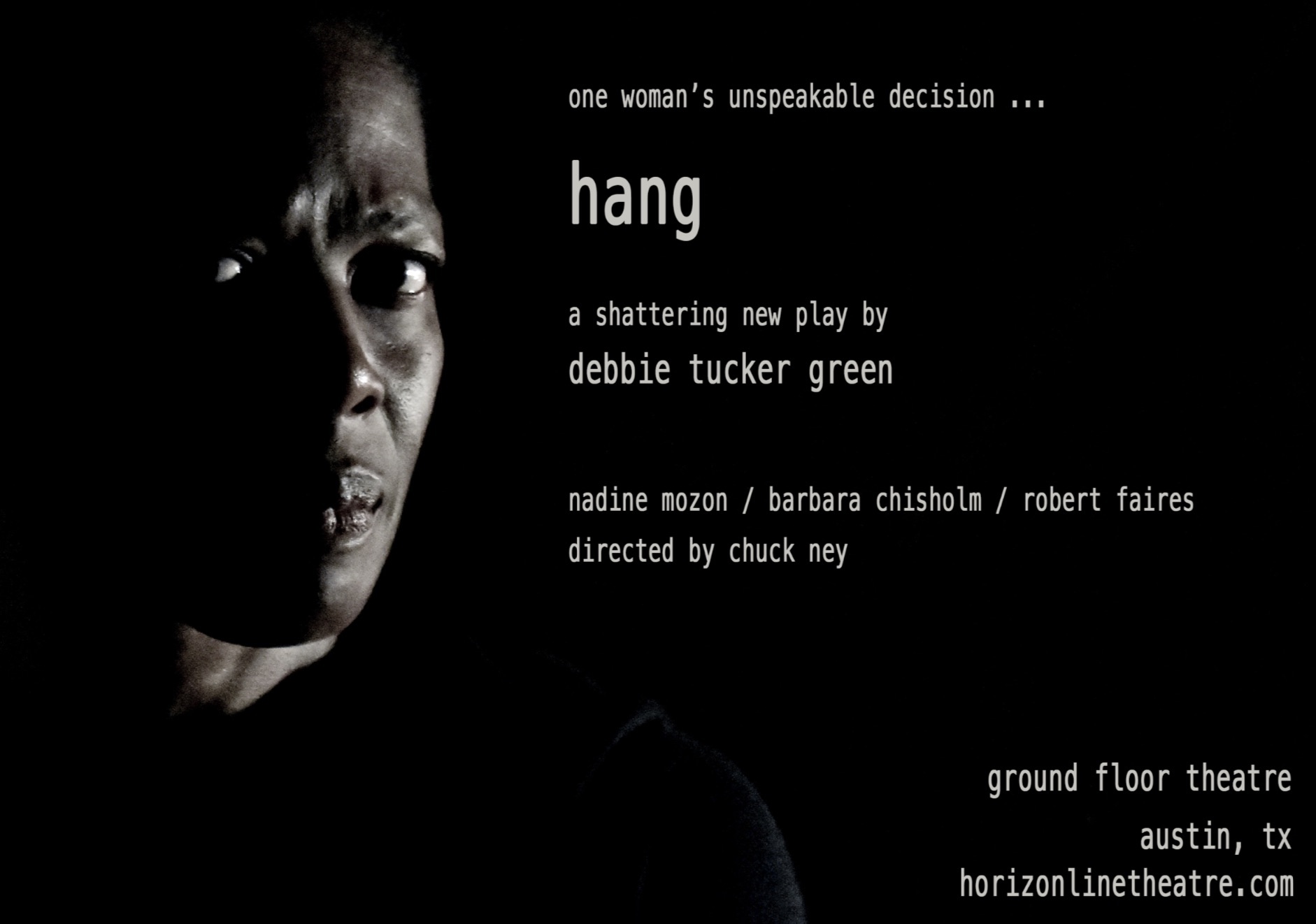 Hang by Horizon Line Theatre