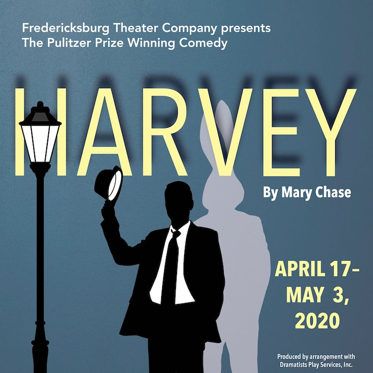 Auditions for Harvey, by Fredericksburg Theater Company