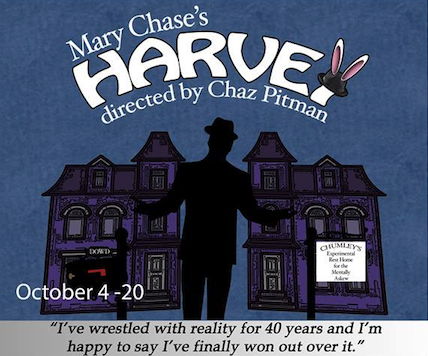 Auditions for Harvey, by StageCenter Community Theatre