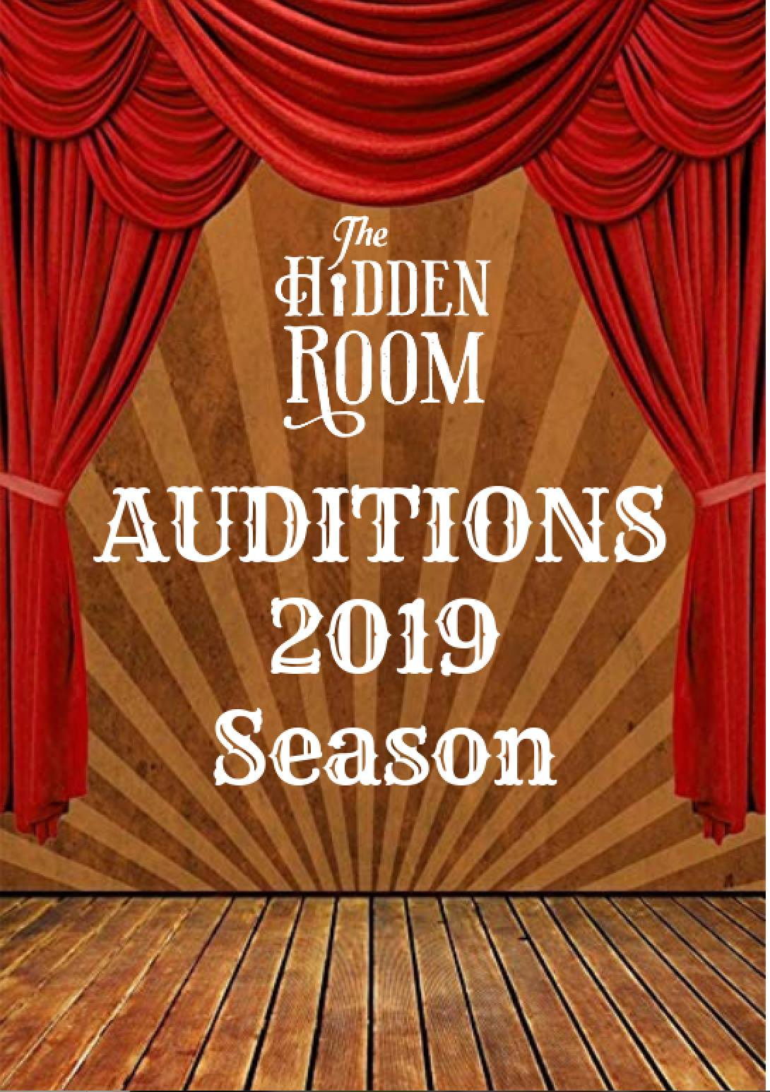 Auditions for upcoming season
