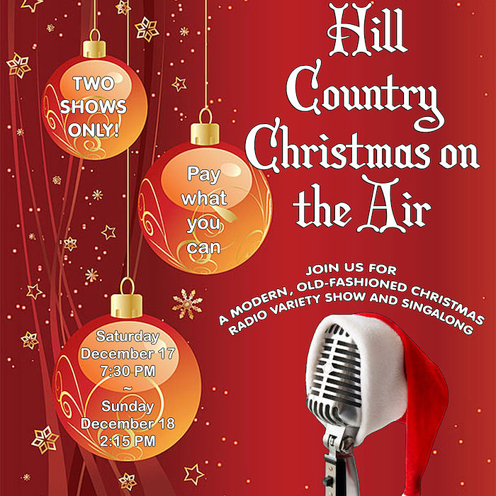 Hill Country Christmas on the Air by Hill Country  Community Theatre (HCCT)