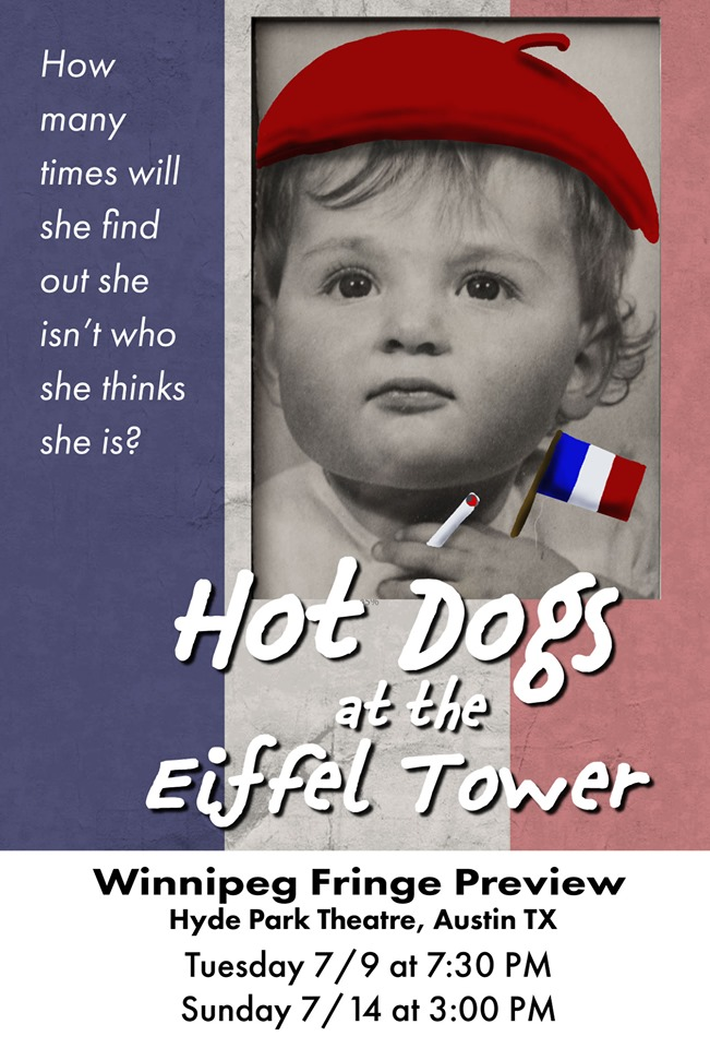 Hot Dogs at the Eiffel Tower by Maggie Gallant