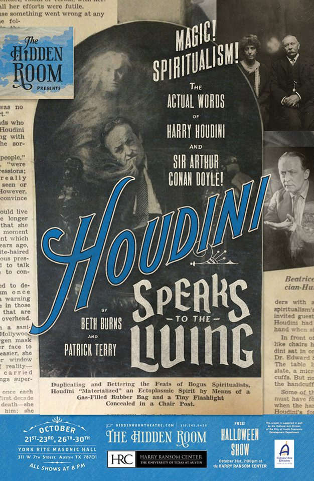 Houdini Speaks to the Living by Hidden Room Theatre