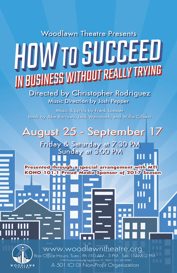 How to Succeed in Business Without Really Trying by Woodlawn Theatre
