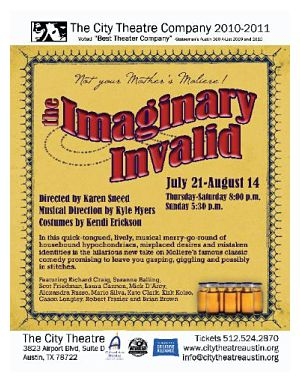 The Imaginary Invalid by City Theatre Company