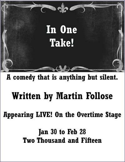 In One Take! by Overtime Theater