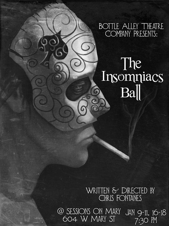 The Insomniac's Ball by Bottle Alley Theatre Company