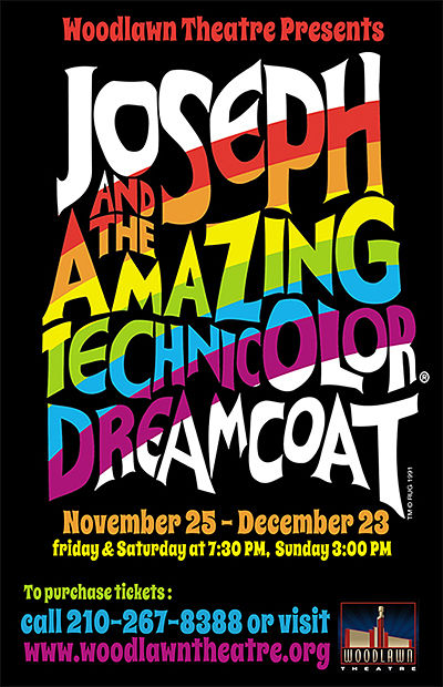Joseph and the Amazing Technicolor Dreamcoat by Woodlawn Theatre