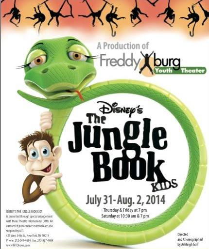 The Jungle Book by Fredericksburg Theater Company