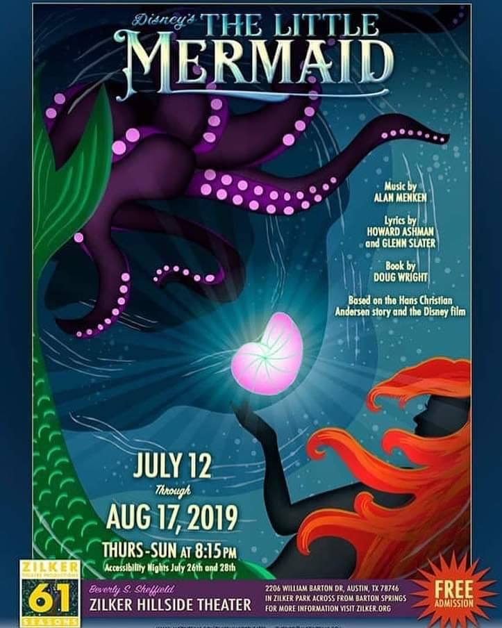 The Little Mermaid, Disney by Zilker Theatre Productions