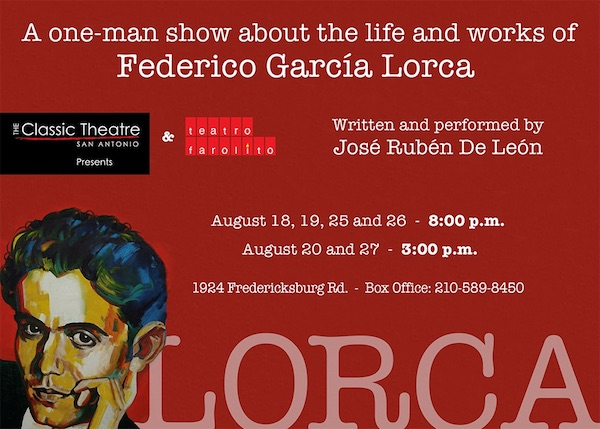 Lorca by Classic Theatre of San Antonio