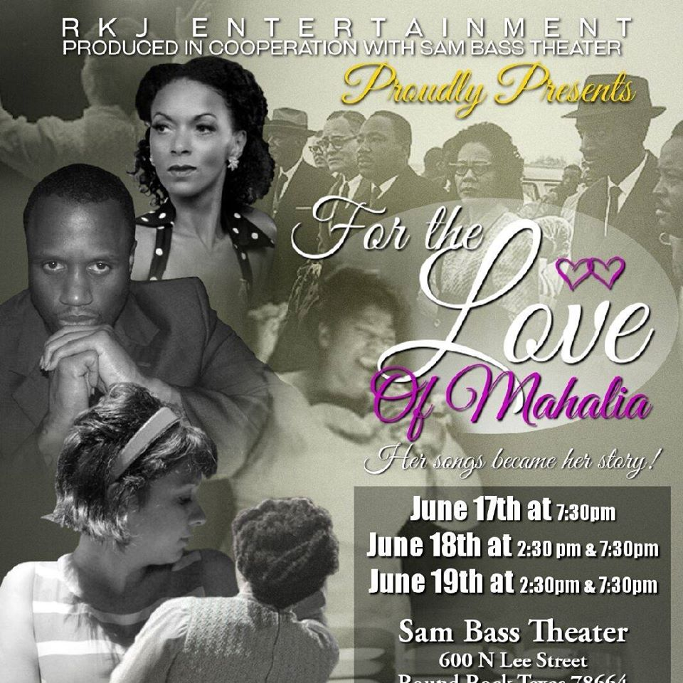 For the Love of Mahalia by RKJB Entertainment