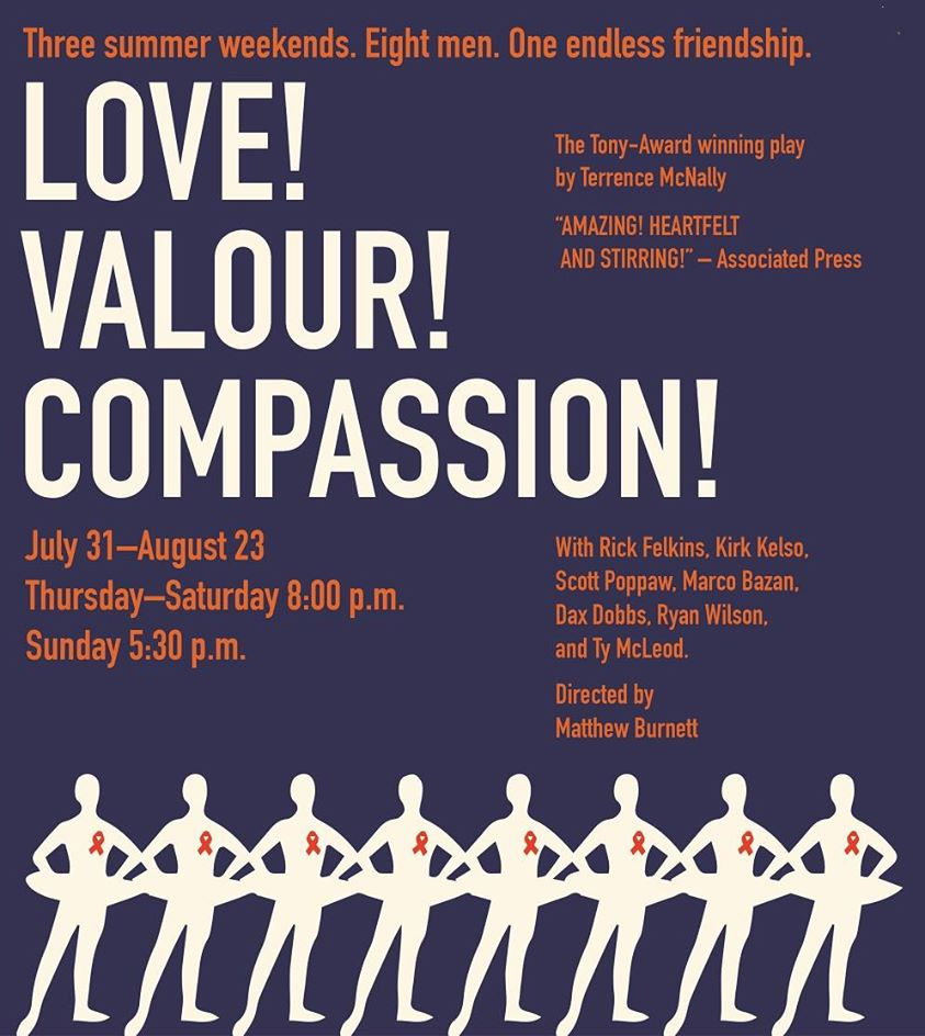 Love! Valour! Compassion! by City Theatre Company